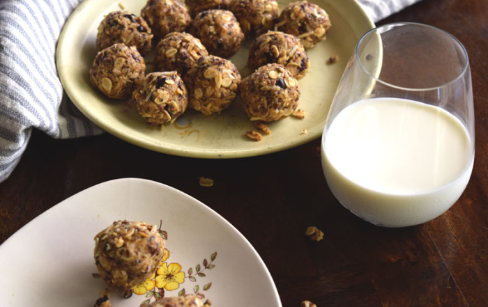 Peanut Butter Coconut Raw Balls